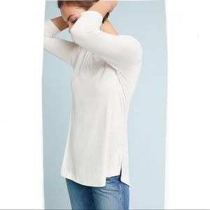 Anthropologie Ribbed Top